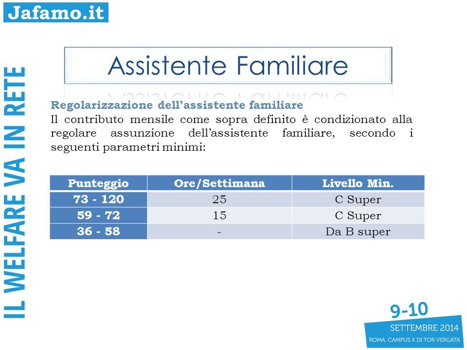 Assistente Familiare Regolarizzazione dell'assistente familiare