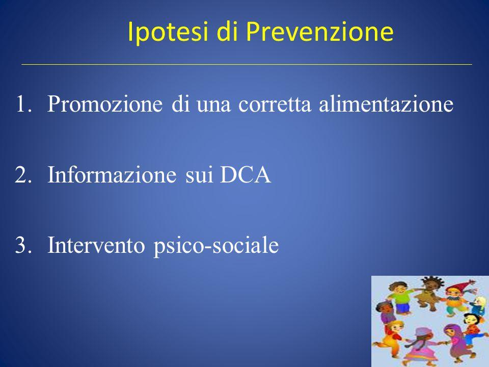Ipotesi di Prevenzione