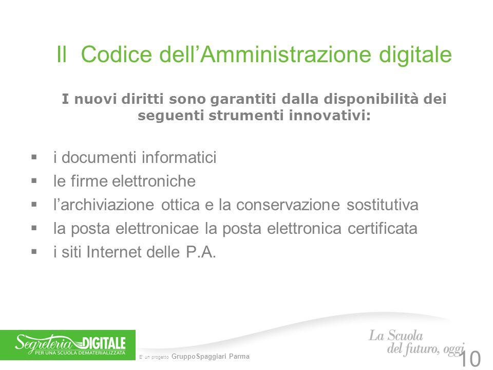 Il Codice dell'Amministrazione digitale