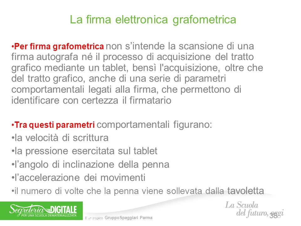 La firma elettronica grafometrica