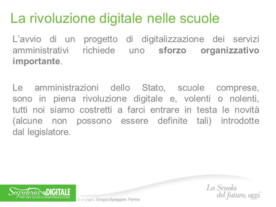 La rivoluzione digitale nelle scuole