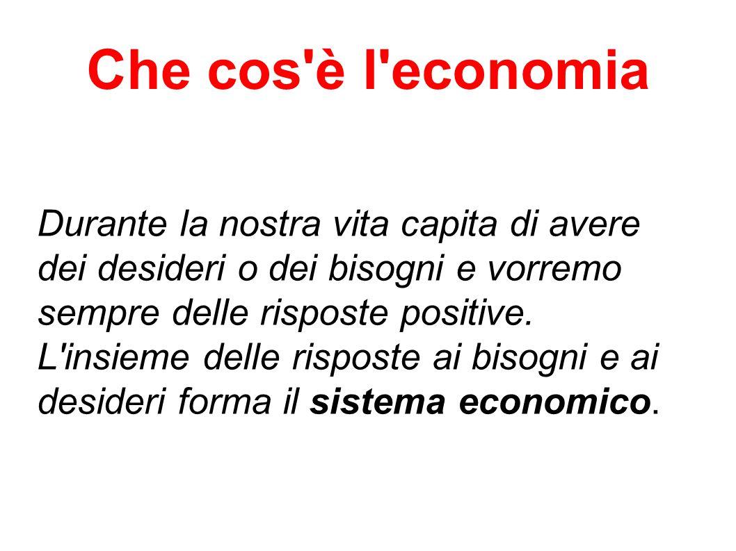 Che cos è l economia