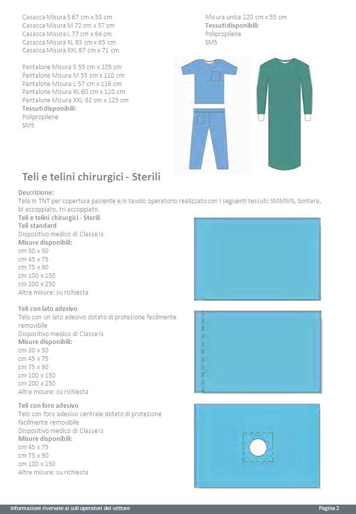 Teli e telini chirurgici - Sterili