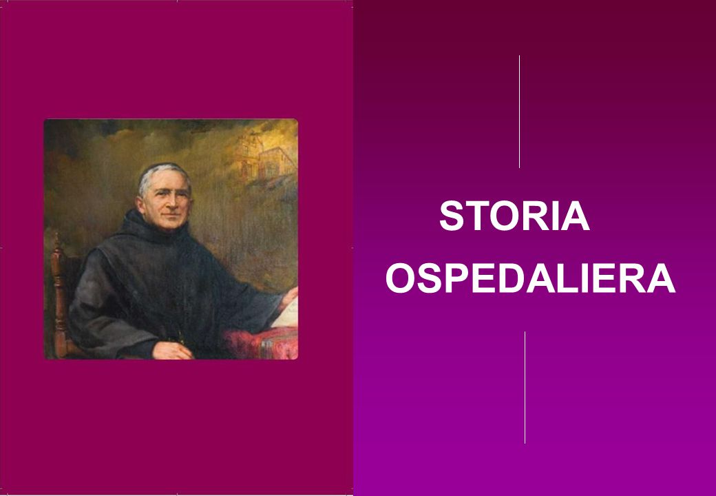 STORIA OSPEDALIERA