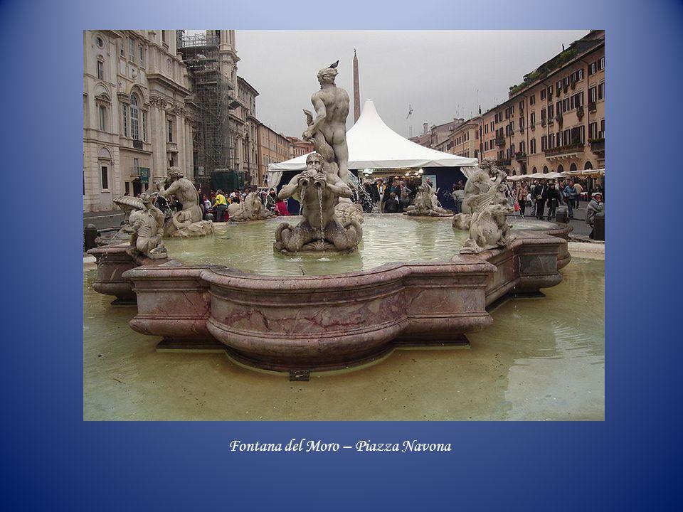 Fontana del Moro – Piazza Navona