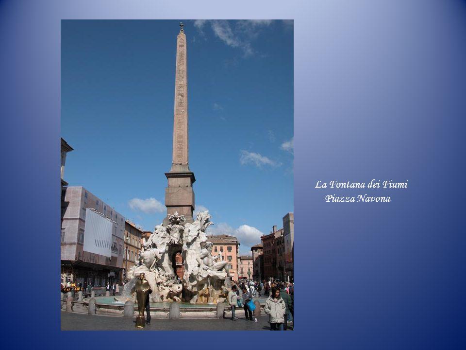 La Fontana dei Fiumi Piazza Navona