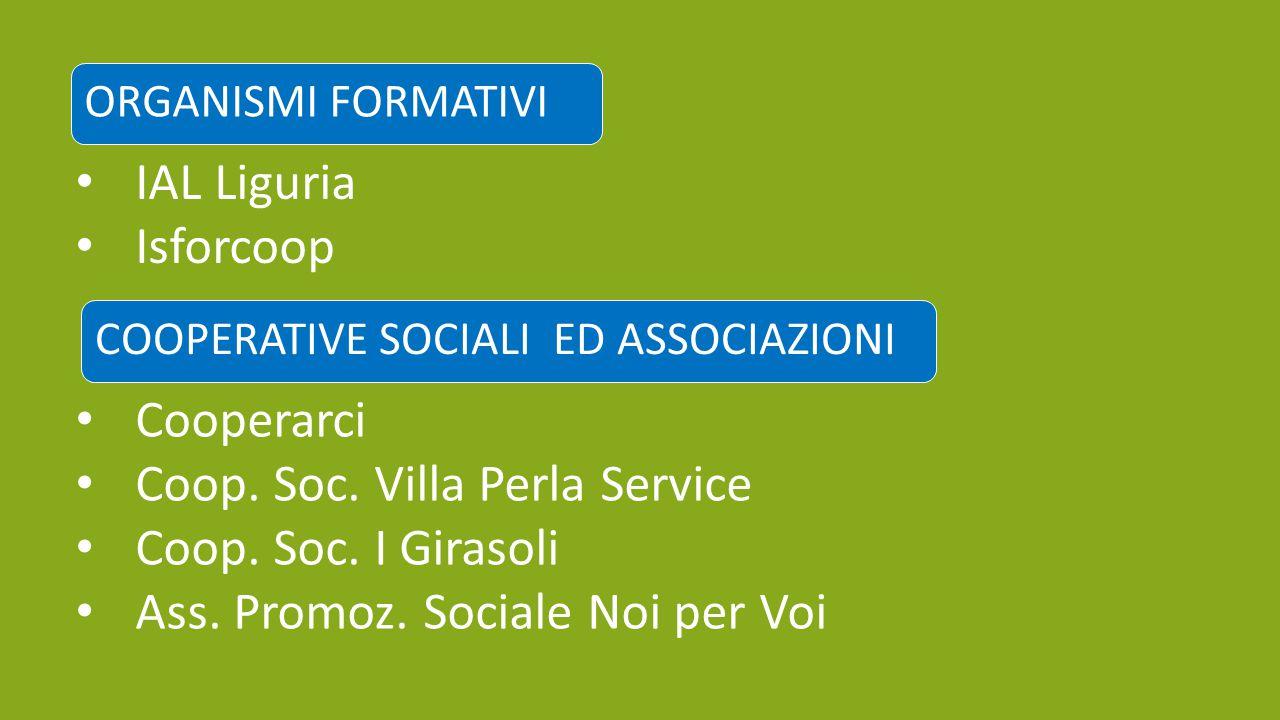 Coop. Soc. Villa Perla Service Coop. Soc. I Girasoli