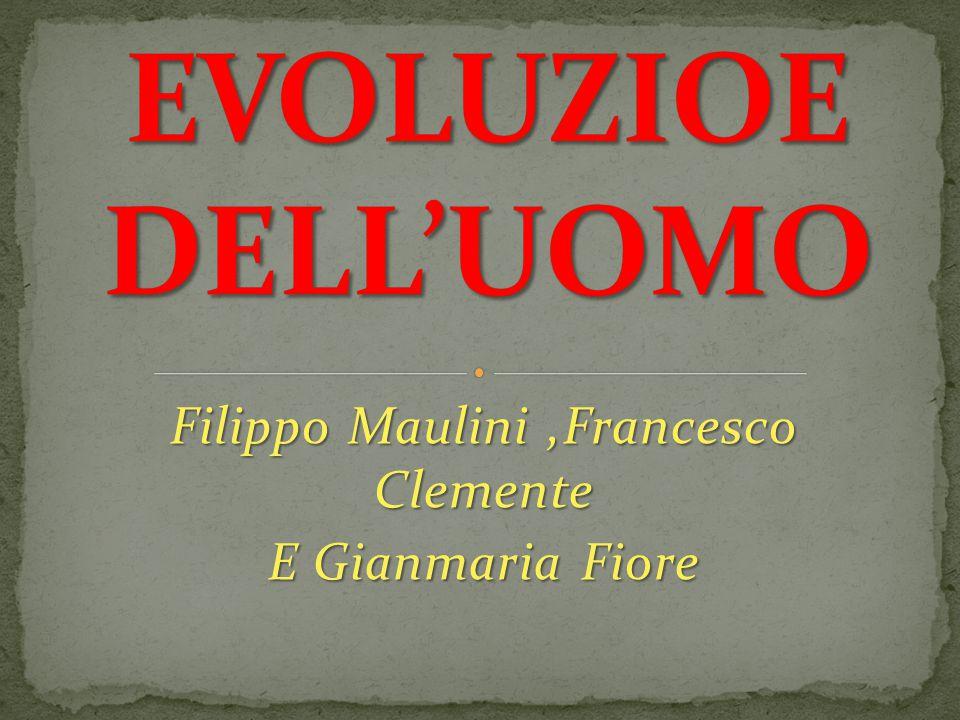 Filippo Maulini ,Francesco Clemente E Gianmaria Fiore