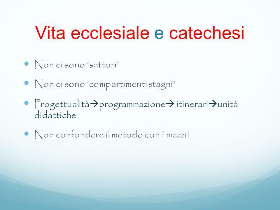Vita ecclesiale e catechesi