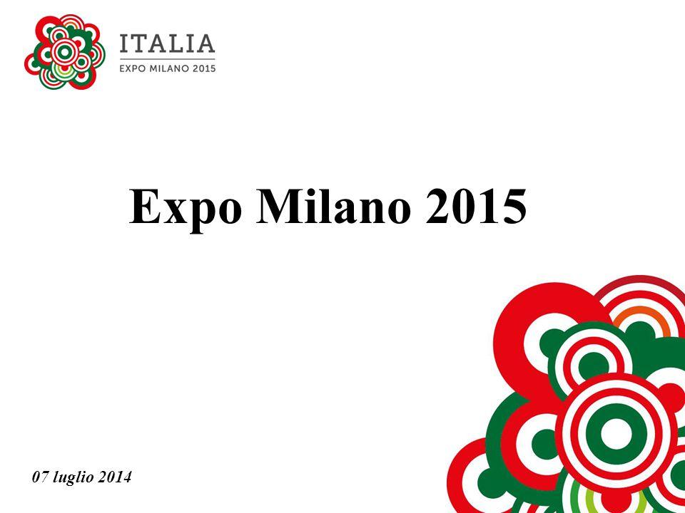Expo Milano 2015 07 luglio 2014