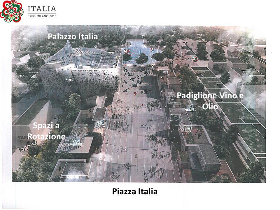 Palazzo Italia Padiglione Vino e Olio Spazi a Rotazione Piazza Italia