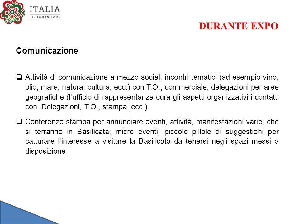 DURANTE EXPO Comunicazione