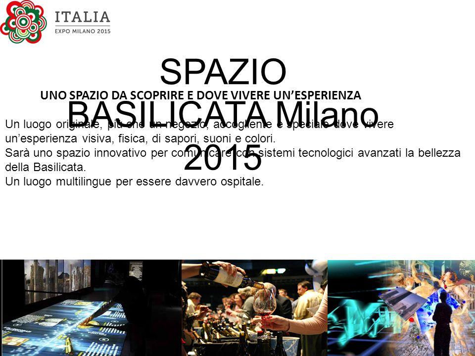 SPAZIO BASILICATA Milano 2015