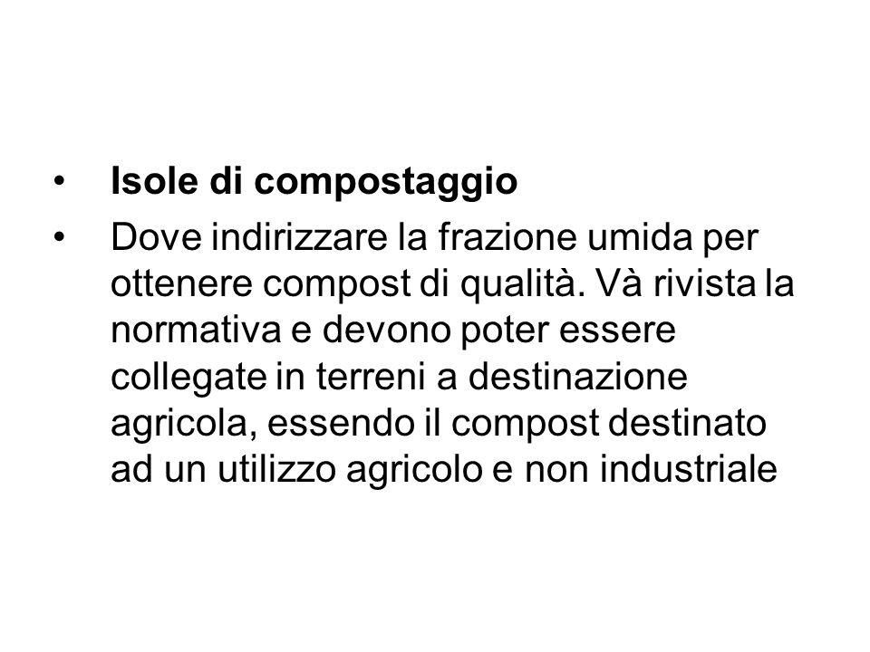 Isole di compostaggio