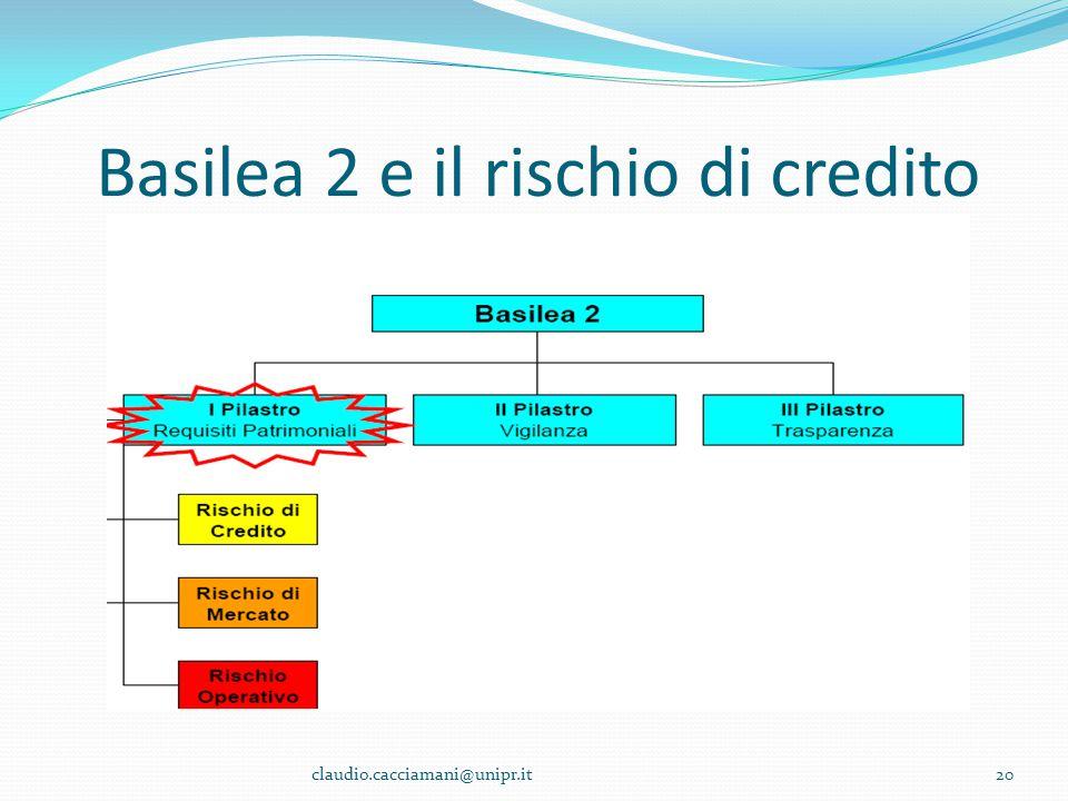 Basilea 2 e il rischio di credito