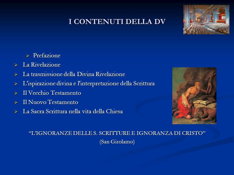 L'IGNORANZE DELLE S. SCRITTURE E IGNORANZA DI CRISTO