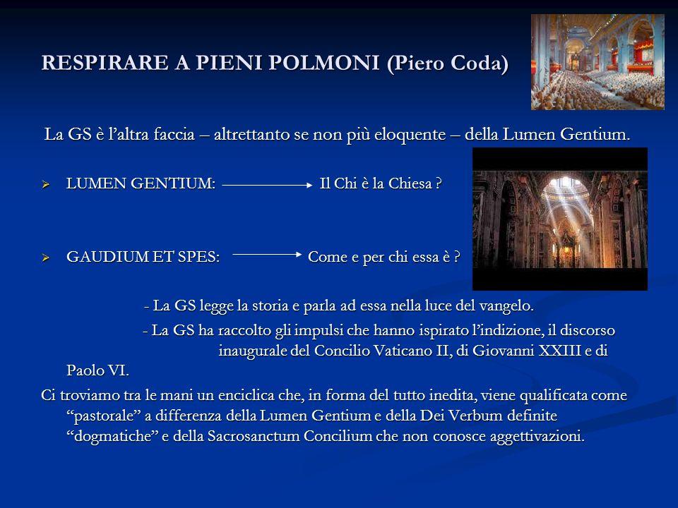 RESPIRARE A PIENI POLMONI (Piero Coda)