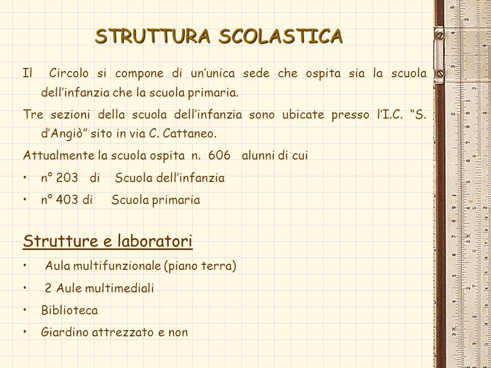 STRUTTURA SCOLASTICA Strutture e laboratori