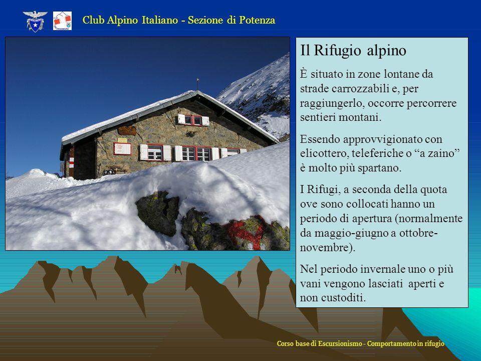 Club Alpino Italiano - Sezione di Potenza