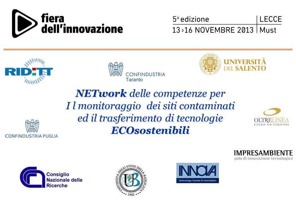 NETwork delle competenze per I l monitoraggio dei siti contaminati