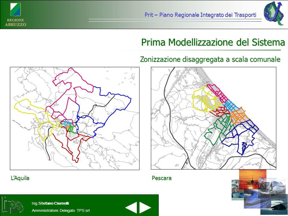 Prima Modellizzazione del Sistema