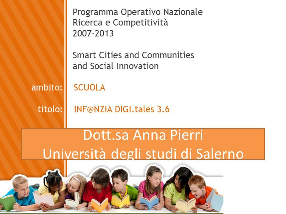 Dott.sa Anna Pierri Università degli studi di Salerno