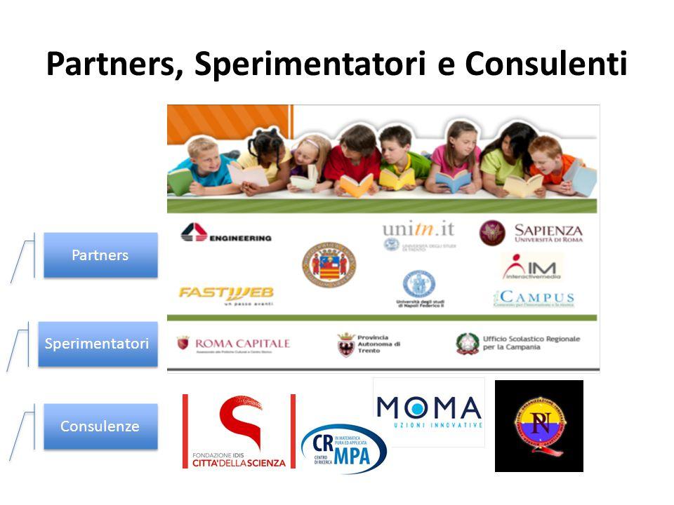 Partners, Sperimentatori e Consulenti