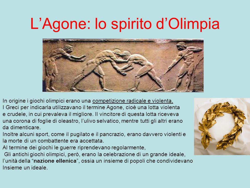 L'Agone: lo spirito d'Olimpia