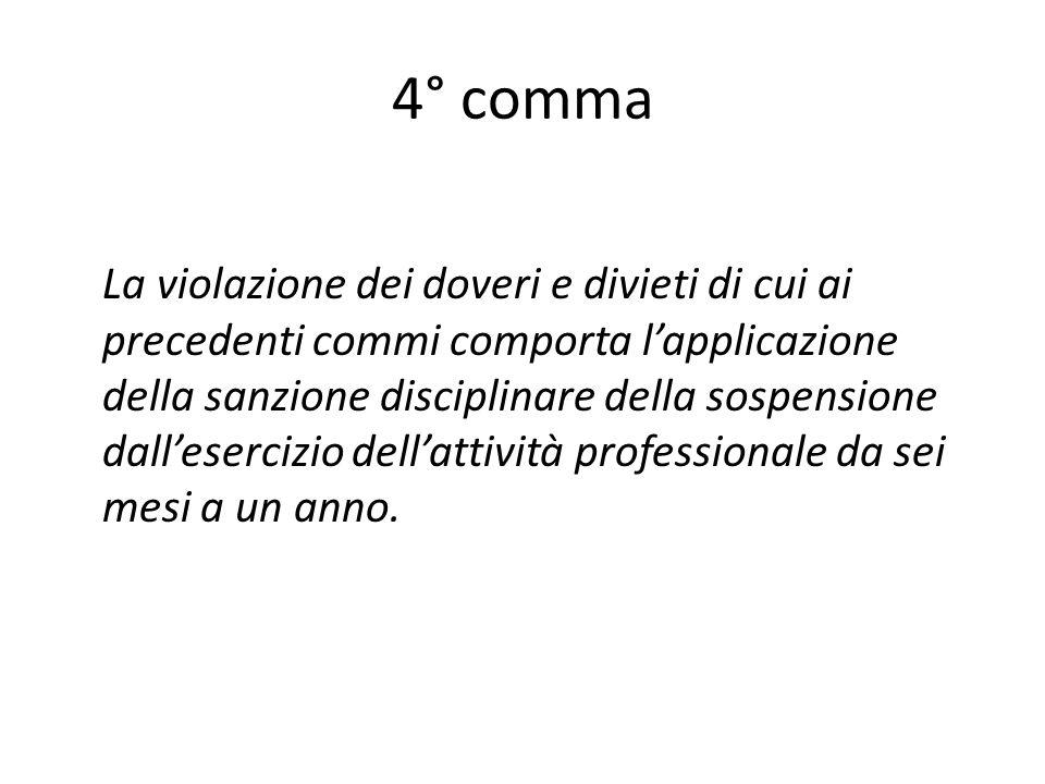 4° comma