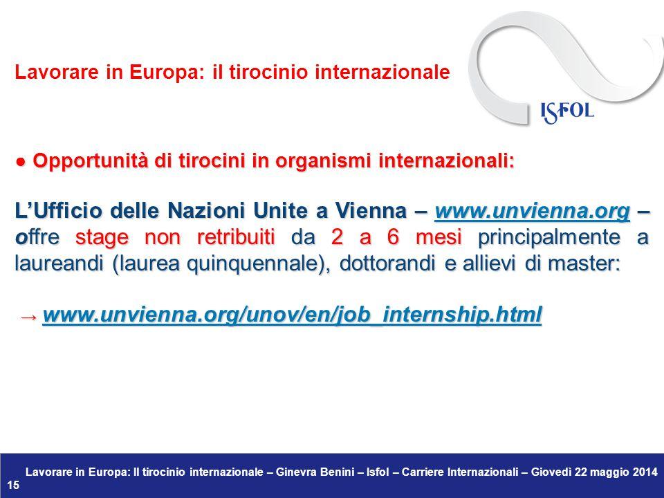 → www.unvienna.org/unov/en/job_internship.html