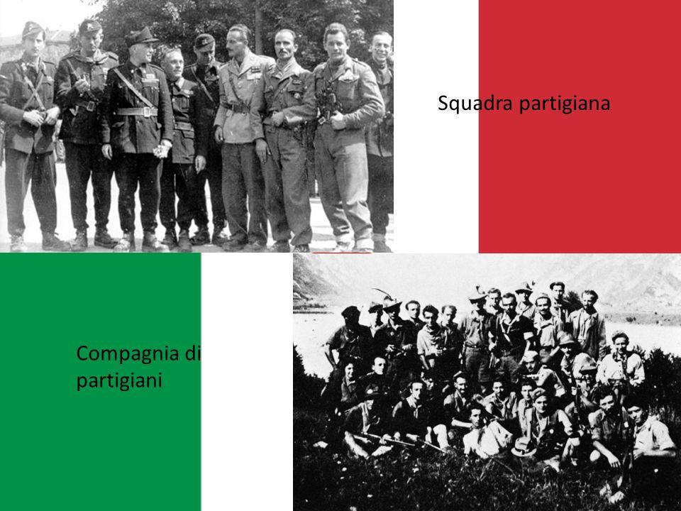 Squadra partigiana Compagnia di partigiani