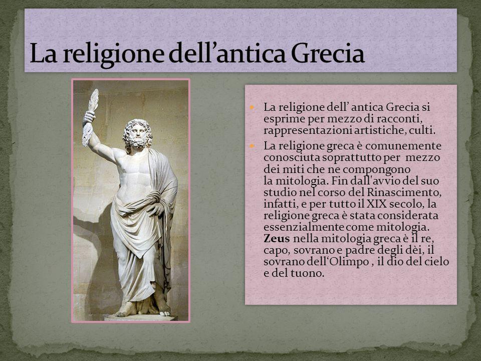 La religione dell'antica Grecia
