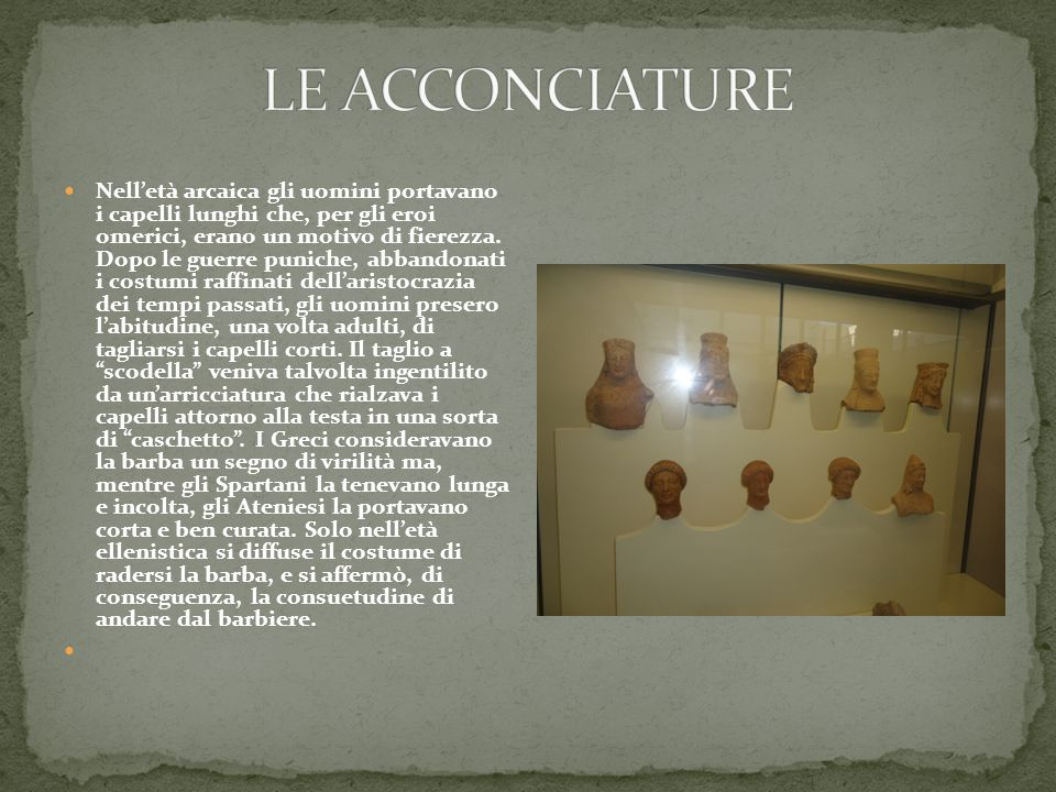 LE ACCONCIATURE