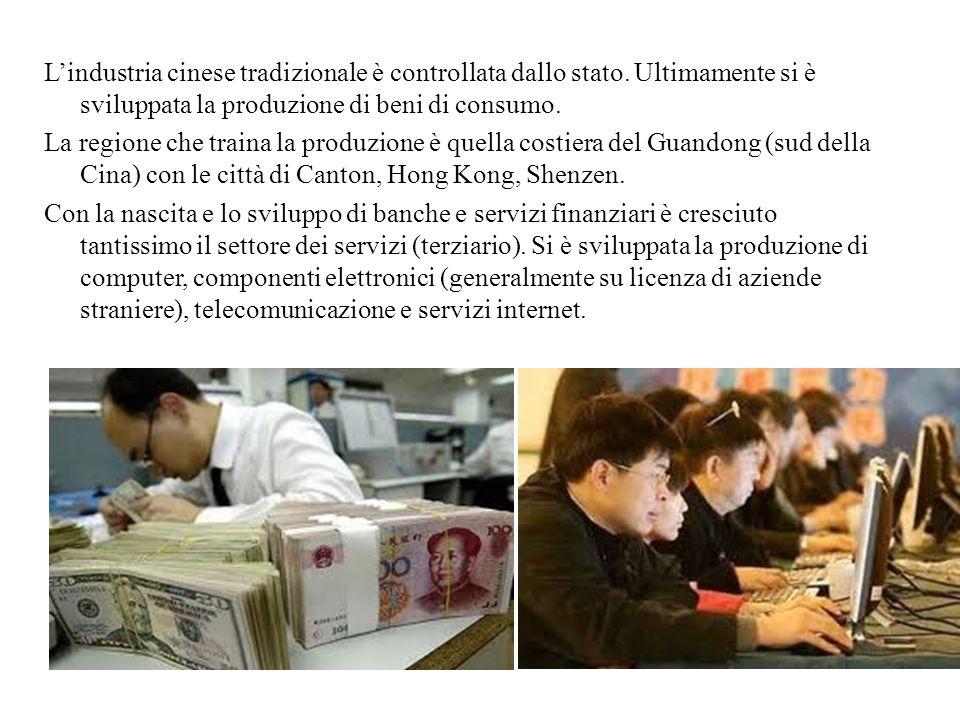 L'industria cinese tradizionale è controllata dallo stato