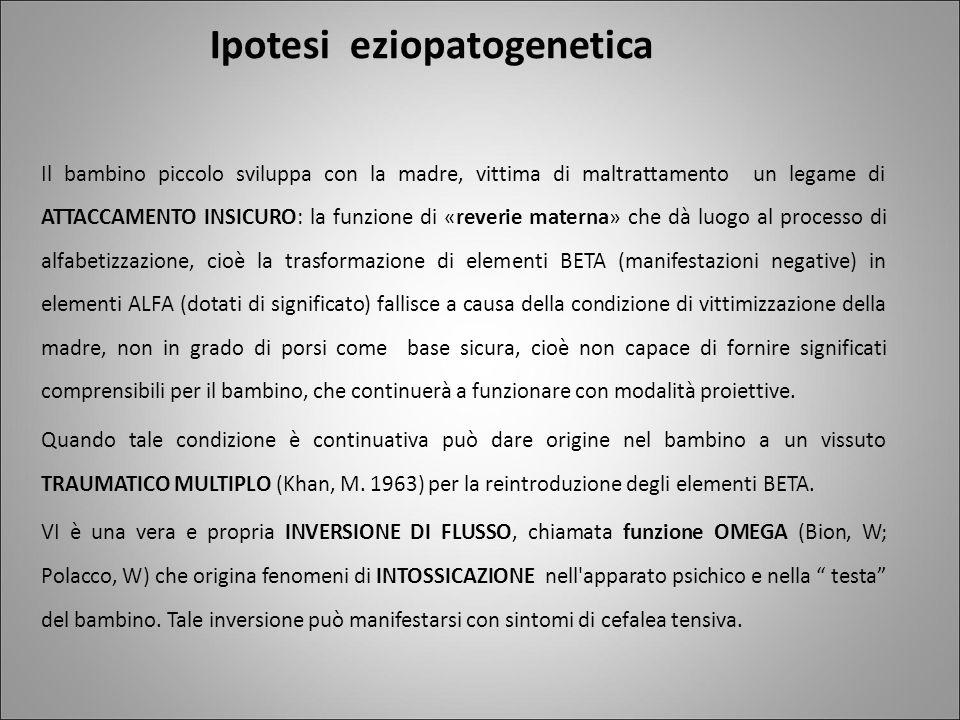 Ipotesi eziopatogenetica