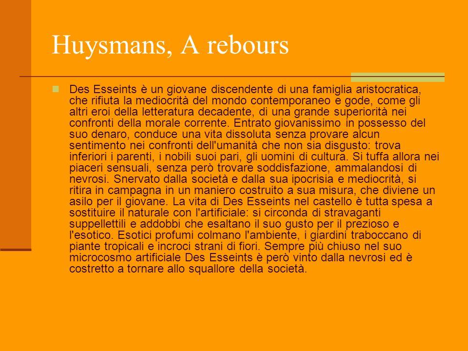 Huysmans, A rebours