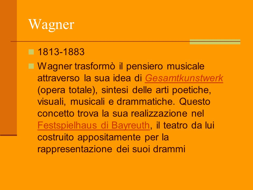 Wagner 1813-1883.