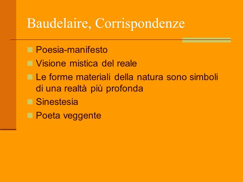Baudelaire, Corrispondenze