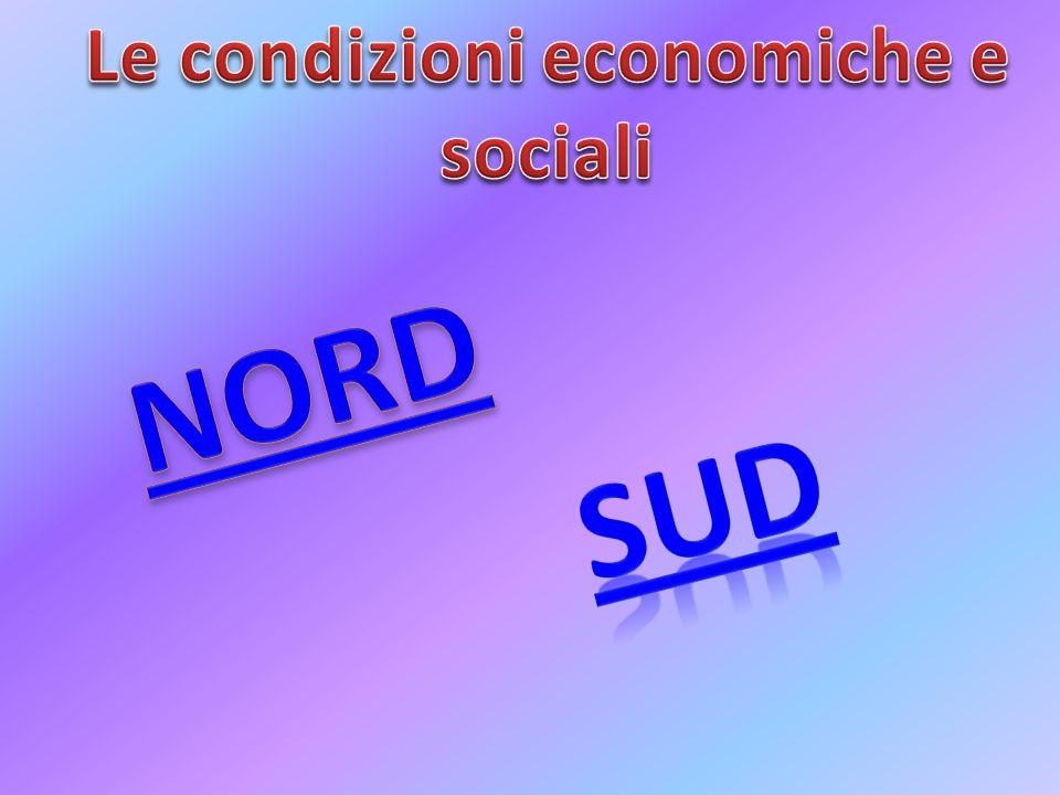 Le condizioni economiche e sociali