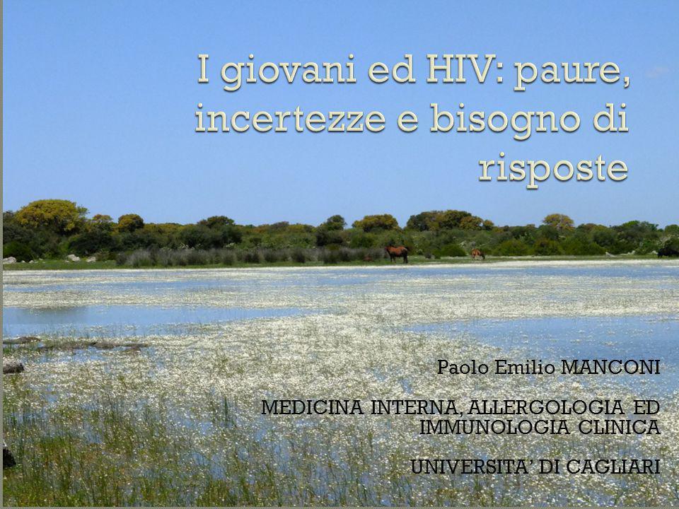 I giovani ed HIV: paure, incertezze e bisogno di risposte