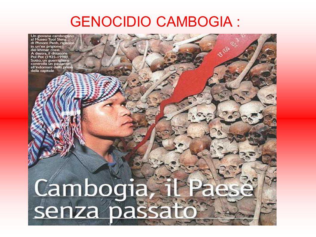 GENOCIDIO CAMBOGIA :
