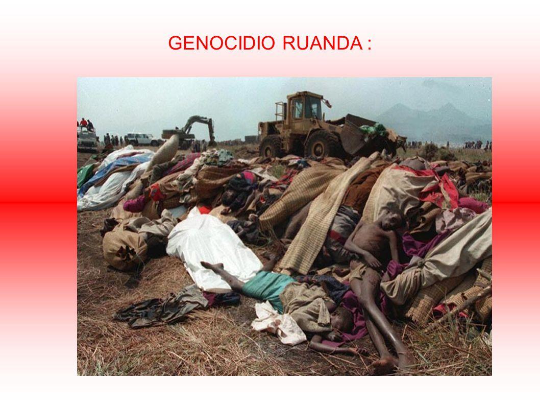 GENOCIDIO RUANDA :