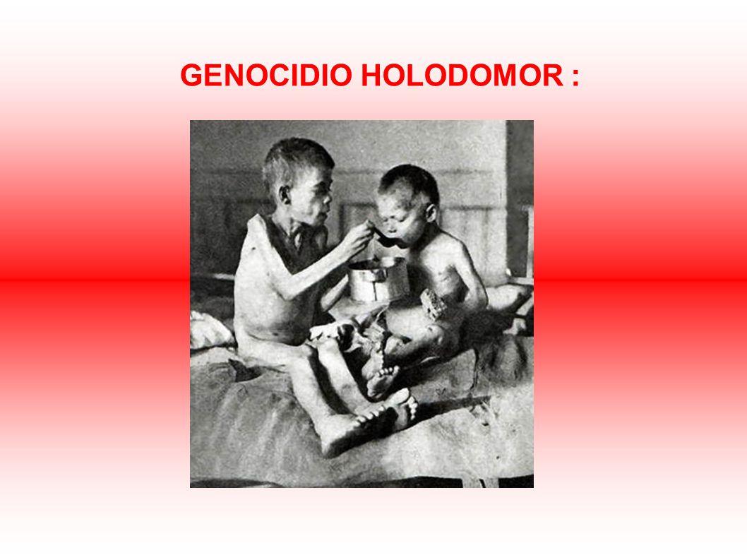 GENOCIDIO HOLODOMOR :