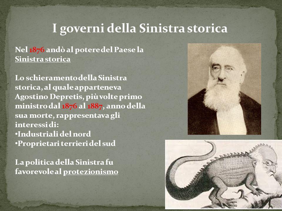 I governi della Sinistra storica