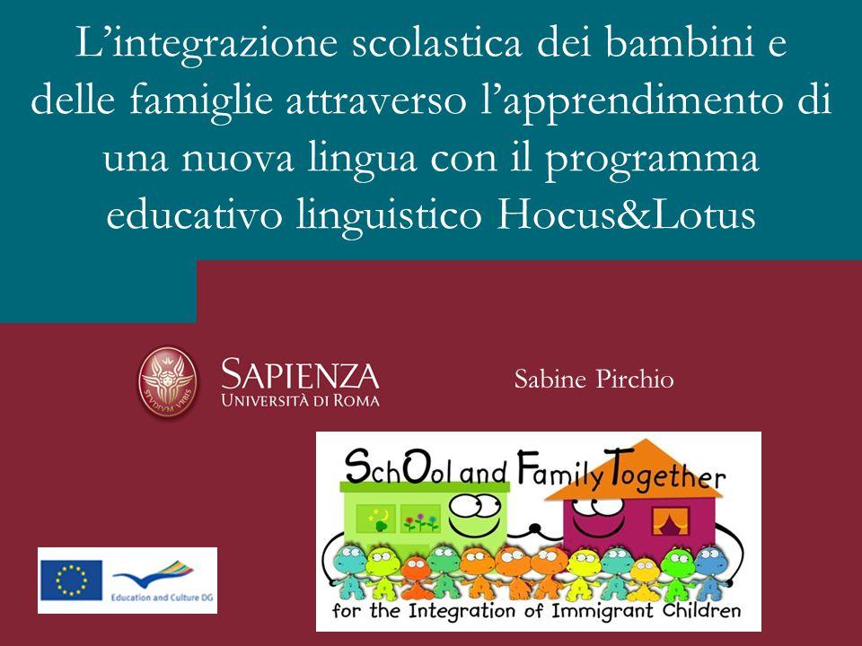 L'integrazione scolastica dei bambini e delle famiglie attraverso l'apprendimento di una nuova lingua con il programma educativo linguistico Hocus&Lotus