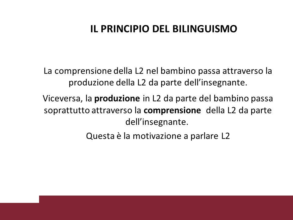 IL PRINCIPIO DEL BILINGUISMO