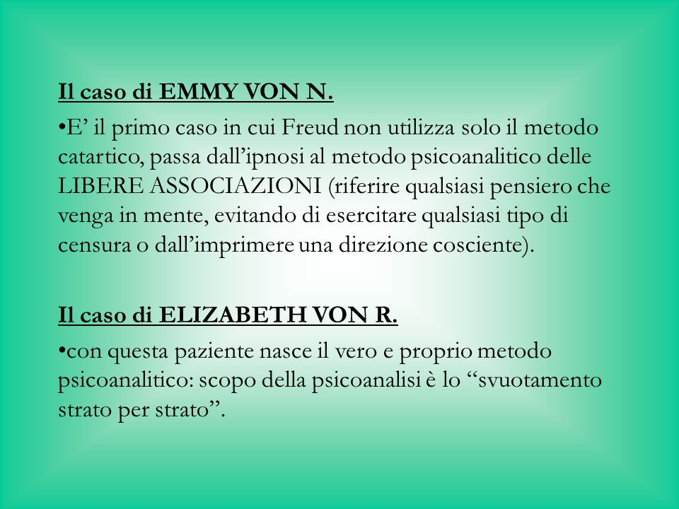 Il caso di EMMY VON N.