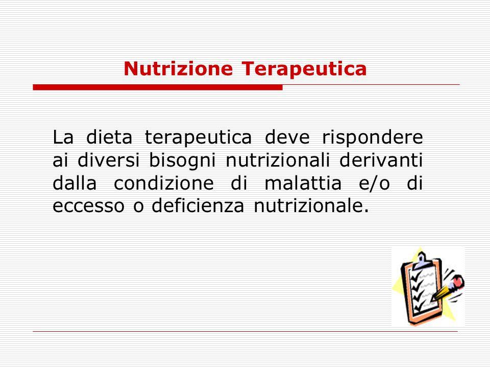 Nutrizione Terapeutica