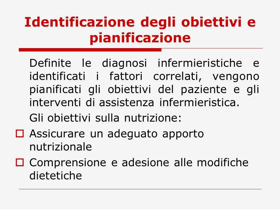 Identificazione degli obiettivi e pianificazione