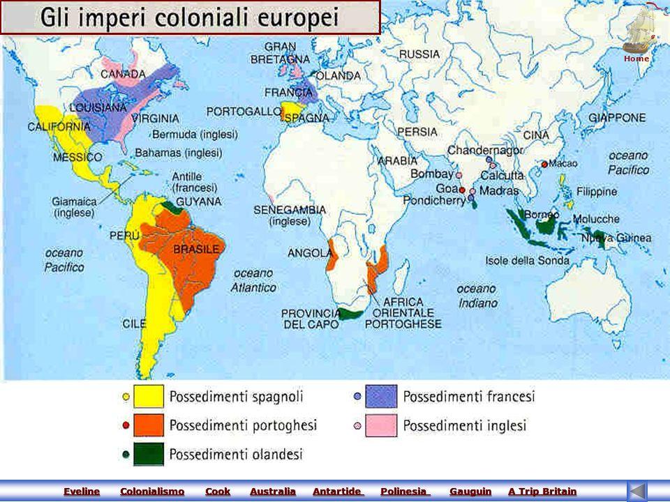 Home Eveline Colonialismo Cook Australia Antartide Polinesia Gauguin A Trip Britain.